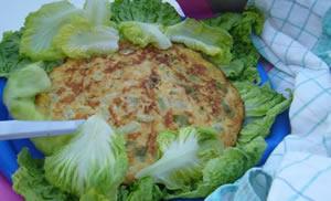 Cibo preparato con le verdure dell'orto urbano