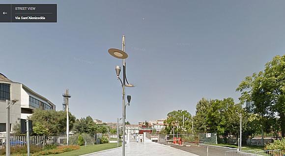 Parco della Musica - Cagliari - google map