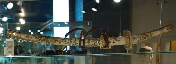Una wakizashi - Museo d'Arte Siamese Stefano Cardu a Cagliari