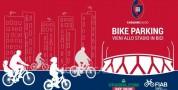 Allo stadio in bici. Bike parking custodito al Sant'Elia