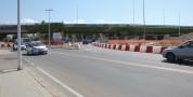 Riaperta temporaneamente al traffico una porzione della rotatoria di via Cadello in direzione Pirri