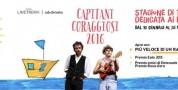 Riparte Capitani Coraggiosi, la stagione di teatro dedicata ai ragazzi