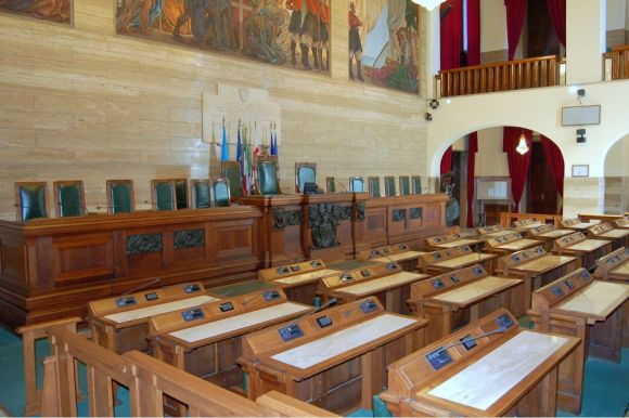 Sala Consiglio comunale - Cagliari