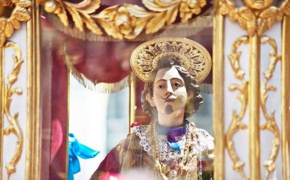 Il cocchio con Sant'Efisio