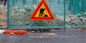 Lavori sospesi nella via Manno, si attende nulla osta dalla Soprintendenza