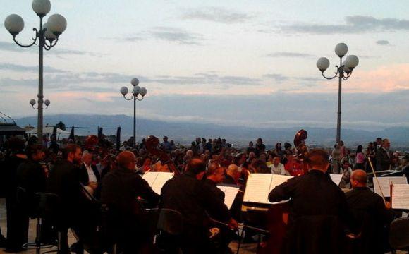 Foto d'archivio. Spettacolo musicale.