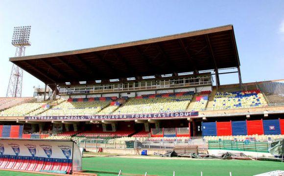 Foto d'archivio. Stadio di Cagliari.