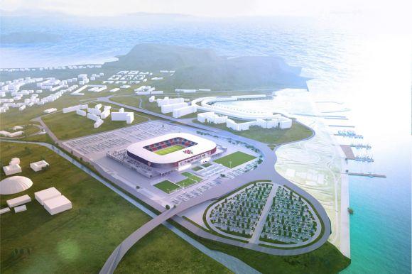Il progetto del nuovo stadio di Cagliari