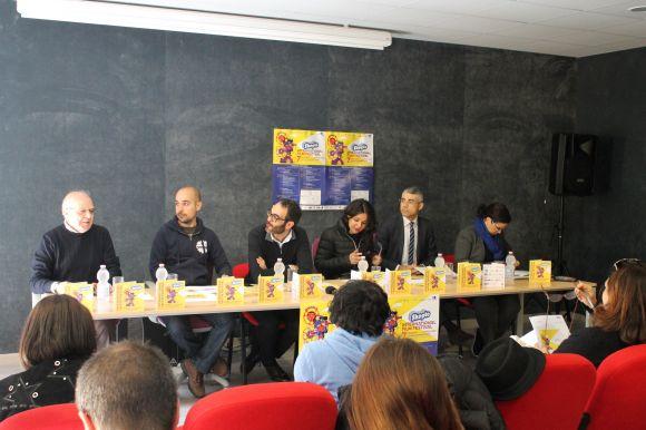 La conferenza stampa, presente anche l'assessore alla Cultura Enrica Puggioni