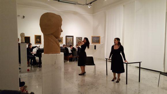 Alla Galleria Comunale d'Arte grande successo per il recital Così fan tutte