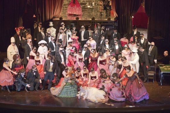 """La Traviata"" - 2014 (foto Priamo Tolu)"