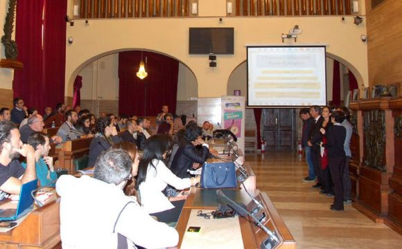 Presentazione progetti contro la disoccupazione giovanile in Municipio