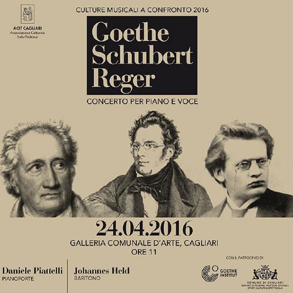 Concerto alla Galleria Comunale d'Arte di Cagliari con Daniele Piattelli e Johannes Held