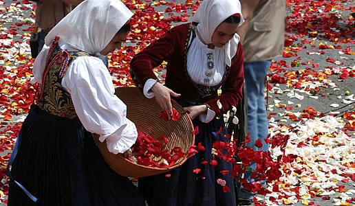 Primo maggio, Festa di Sant'Efisio a Cagliari. Sa Ramadura