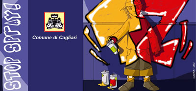 Stop spray! Non imbrattare i muri della città: campagna contro lo spray selvaggio