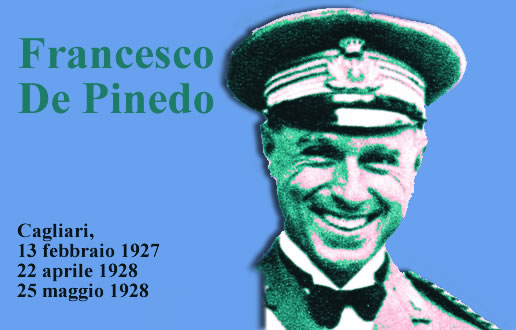 Francesco De Pinedo a Cagliari