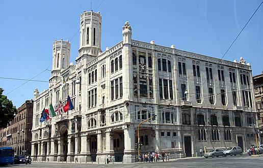 Il Palazzo Civico di Cagliari
