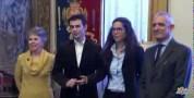Il sindaco Massimo Zedda presenta i nuovi assessori della Giunta Comunale